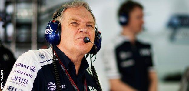 Williams co-founder Sir Patrick Head
