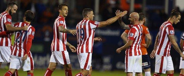 Jonathan Walters' second-half striker looked to have settled the tie until 37 seconds into injury time