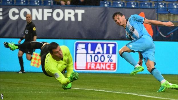 Florian Thauvin has scored five goals in his last three Ligue 1 games