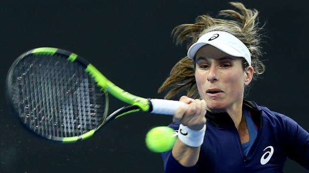 Johanna Konta: British number one hopes to be 'better equipped' thumbnail