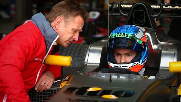 Three-time 24 Hours of Le Mans winner Allan McNish is mentoring Ross Martin