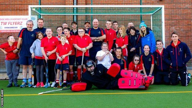 Tunbridge Wells Flyerz Hockey team