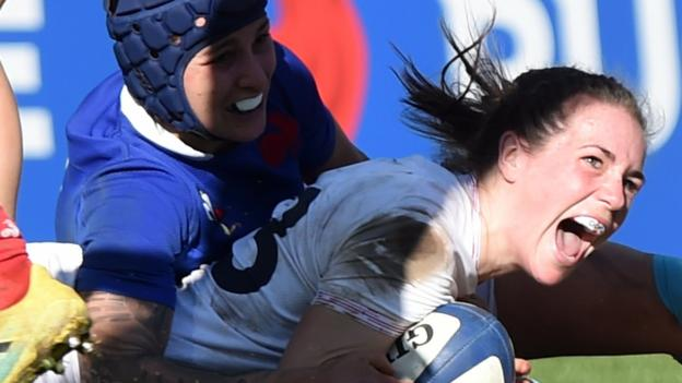 Women's Six Nations: England beat France 19-13 thumbnail