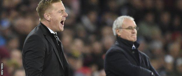 Garry Monk (left)