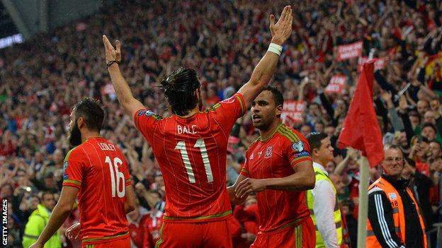 It was delight in the June rain for Gareth Bale and the Wales fans as Belgium were beaten in Cardiff