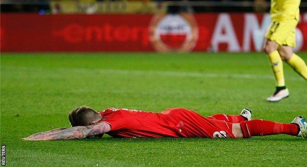 Liverpool defender Alberto Moreno