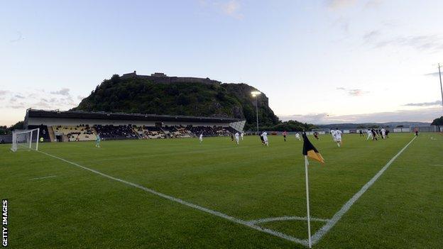 Dumbarton's football stadium