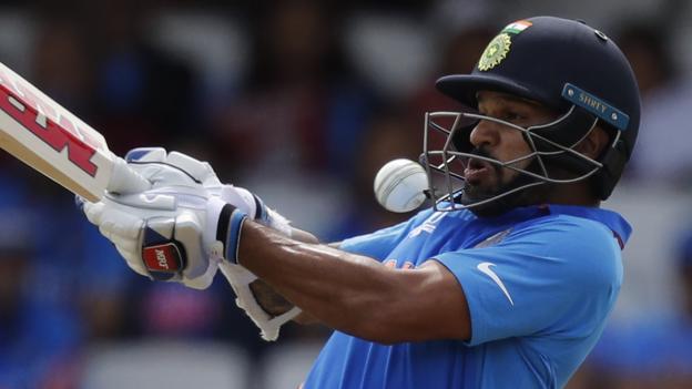 India v Australia: Shikhar Dhawan makes 96 as hosts level one-day series thumbnail