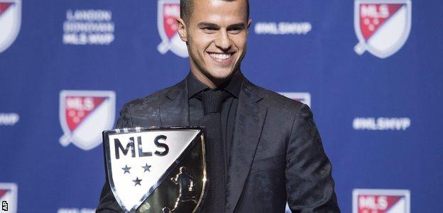 Sebastian Giovinco of Toronto FC