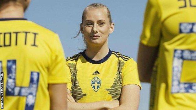 Sweden's national kit promotion
