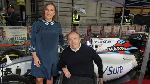 Formula 1 Sir Frank Williams And Claire Williams Step Down From Williams Team Bbc Sport