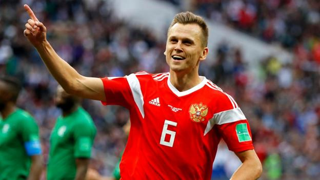 102030486 p06b330y - World Cup 2018: Denis Cheryshev rankings'marvellous' aim for Russia