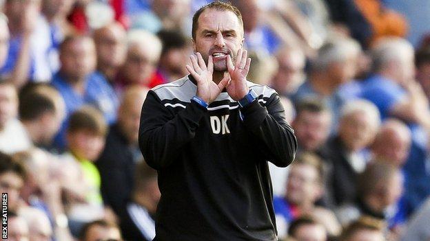 Darren Kelly Oldham Athletic
