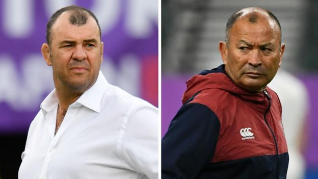 England v Australia: Ex-team-mates Eddie Jones & Michael Cheika go head-to-head thumbnail