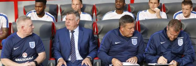 Sam Allardyce as England manager