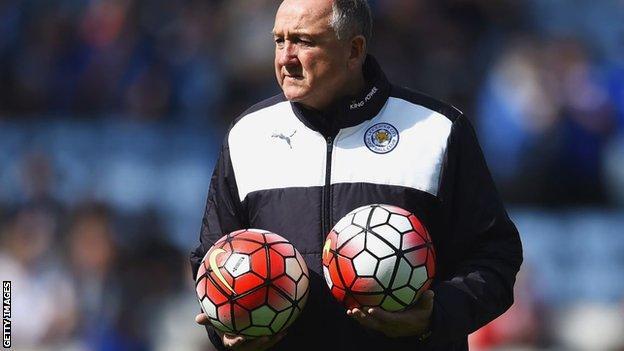Former Leicester director of football Steve Walsh
