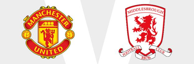 Man Utd v Middlesbrough