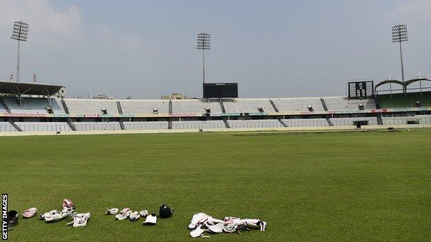 The Sher-e-Bangla cricket stadium