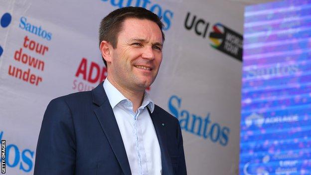 UCI president David Lappartient