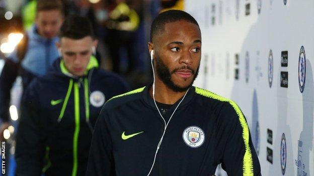 Sterling was allegedly racially abused during Manchester City's defeat at Chelsea