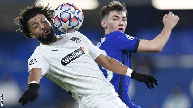 Billy Gilmour impressed in Chelsea's Champions League draw with Krasnodar on Tuesday