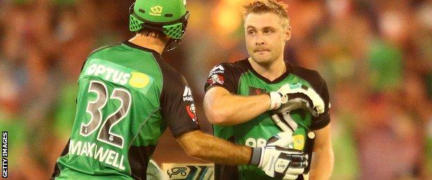 Sussex captain Luke Wright playing for Melbourne Stars