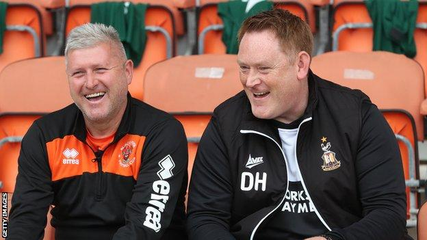 Bradford have won just once in the league since Hopkin took over