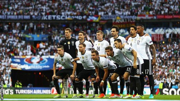 Germany at the Stade de France