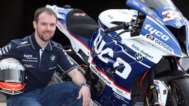Alastair Seeley will seek to add to his 17 NW 200 wins on the Tyco BMW in May