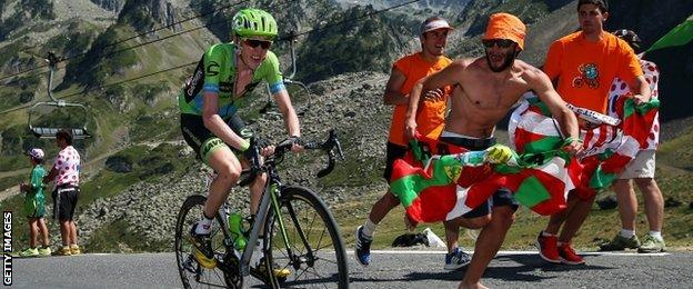 Dan Martin at the Tour de France