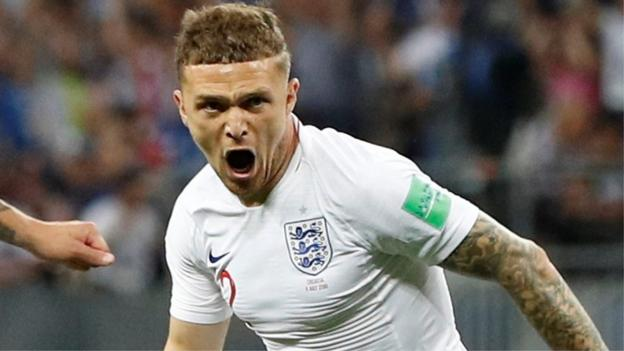 102487786 p06dhg2r - World Cup 2018: Kieran Trippier affords England an early lead in opposition to Croatia with an very superior making an are attempting free-kick