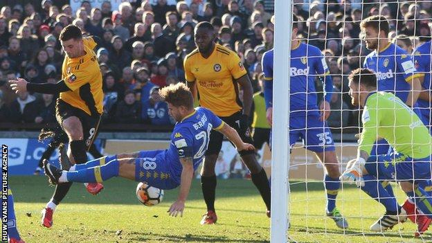 Leeds knocked out of FA Cup by League Two side Newport