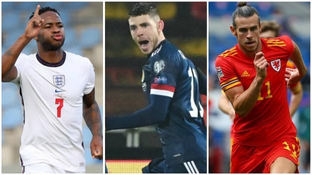 Raheem Sterling, Ryan Christie, Gareth Bale
