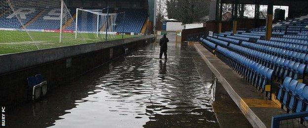Bury FC's Gigg Lane