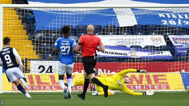 Danny Mullen scores