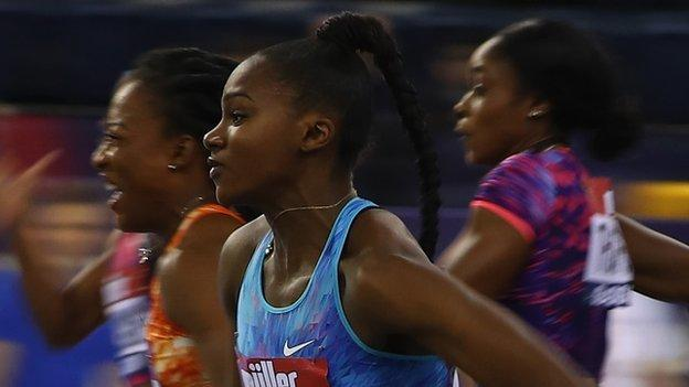 Asher-Smith edged out in Glasgow final – video & report