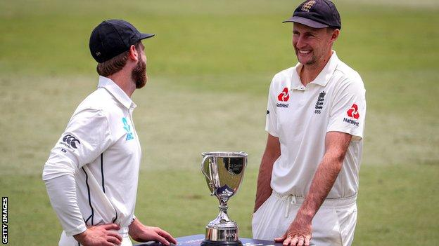 New Zealand captain Kane Williamson and England skipper Joe Root