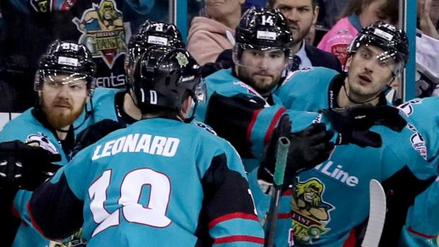 belfast giants  elite league champions drawn with former