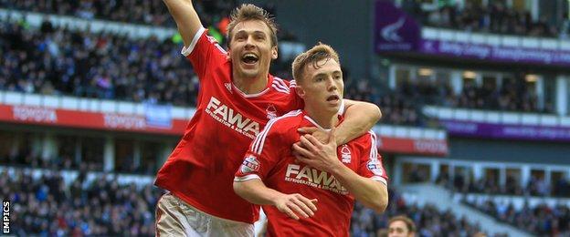 Ben Osborn scores against Derby