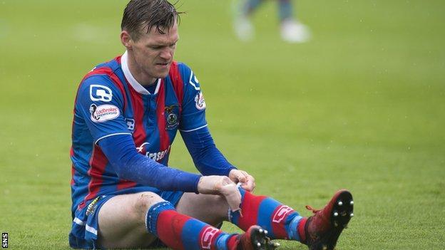 Ross County striker Billy Mckay