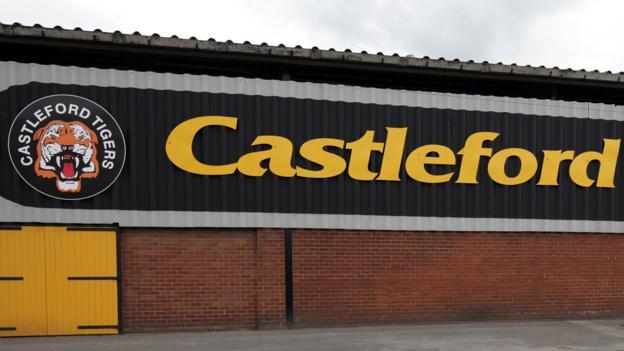Jake trueman castleford tigers sign teenage bradford - Bbc football league 1 table ...