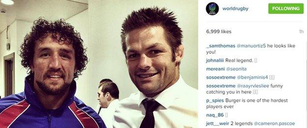Jaques Burger and Richie McCaw