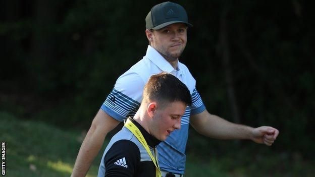 Lawlor joined Niall Horan's Modest Golf management agency whose clients includes Tyrrell Hatton