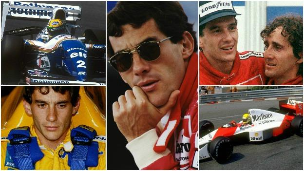 Ayrton Sena died 22 years on Sunday May 1st