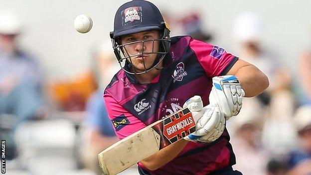 Rob Newton has made 63 appearances in limited-over cricket for Northants and played 87 Championship games