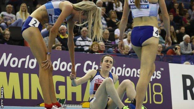 Athlete Laura Muir