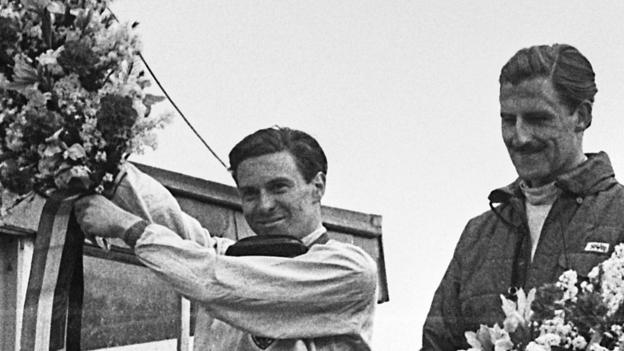 Jim Clark and Graham Hill