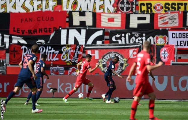 Bayer Leverkusen v Bayern Munich