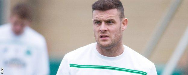 Stokes has not played for Celtic since August