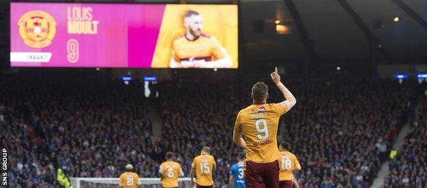 Moult's heroic double for Motherwell sunk Rangers and effectively ended Caixinha's tenure